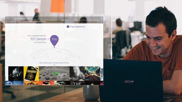 """صورة """"بت تورنت"""" تكشف عن متصفح ويب سيغير طريقة عمل الويب جذريا"""
