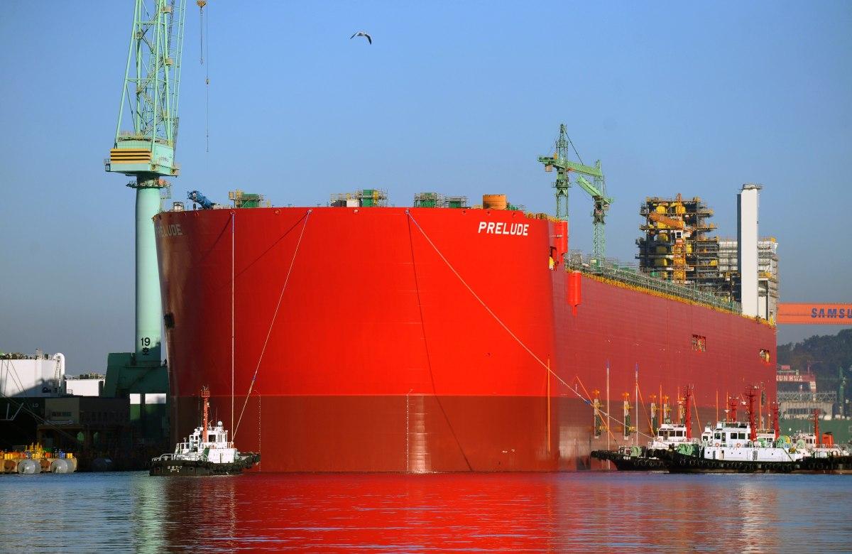 صورة شيل تعلن عن أضخم سفينة في العالم