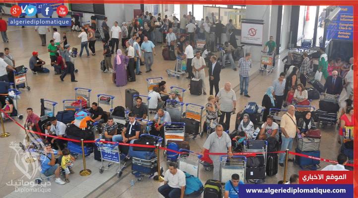 صورة إلغاء رحلات للجوية الجزائرية بسبب إضراب عمال الصيانة