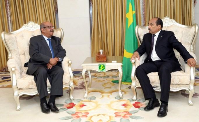 صورة مساهل: المعبر البري بين الجزائر وموريتانيا يفتح قريبا