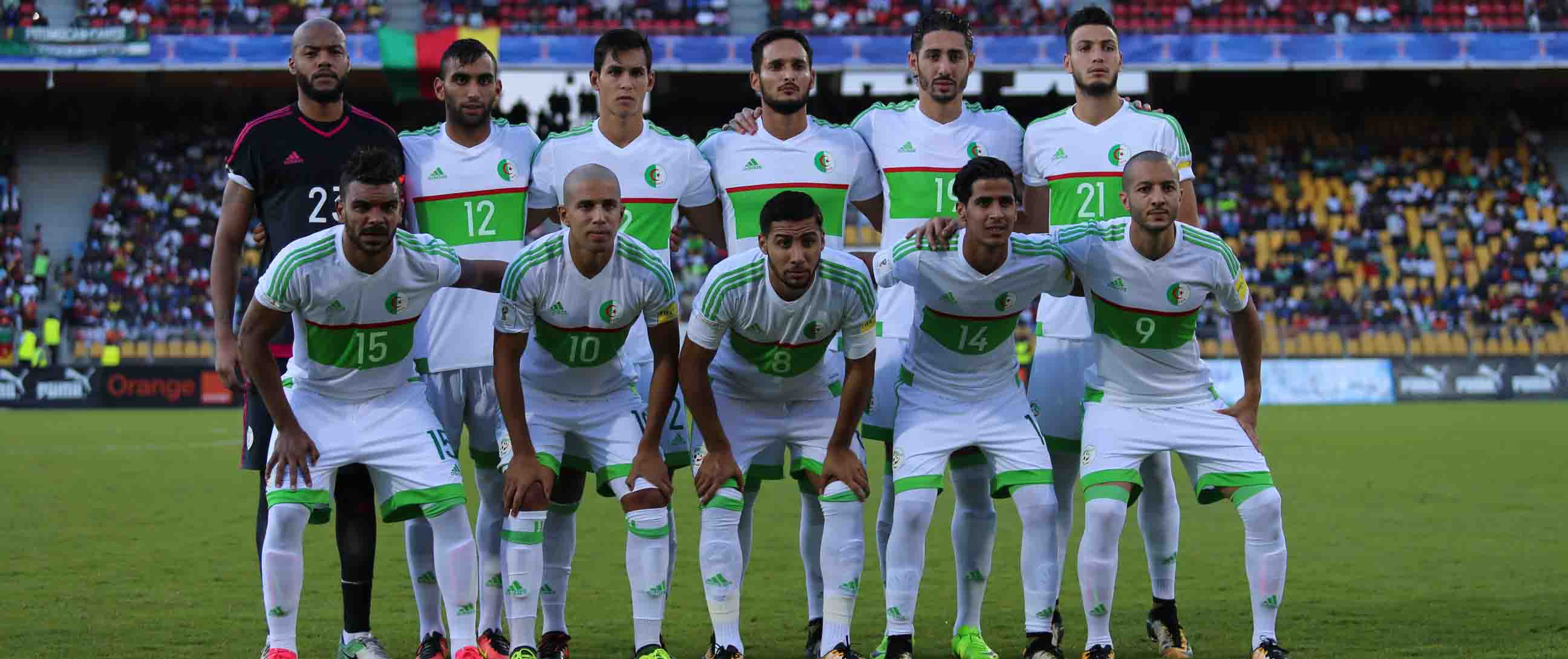 """صورة الجزائر قد تشارك في كأس العالم لـ """"المقصيين"""" من مونديل روسيا"""