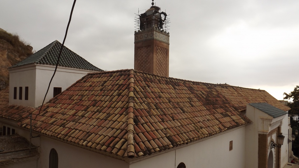 صورة مسجد سيدي الحَلْوي في تلمسان.. تحفة الزيانيين الخالدة