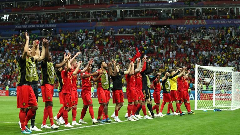صورة فرنسا وبلجيكا في نصف نهائي مونديال روسيا 2018