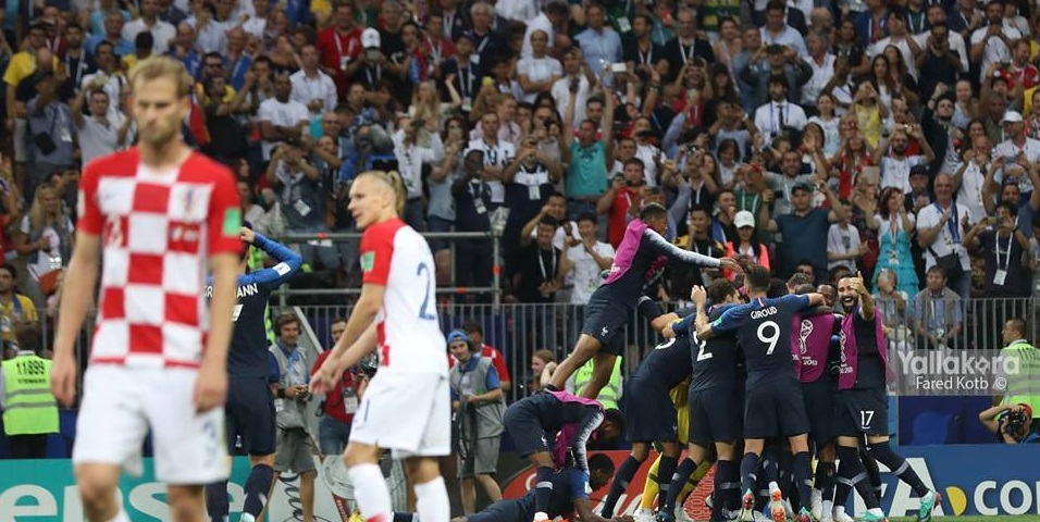 صورة فرنسا بطلة العالم للمرة الثانية في تاريخها