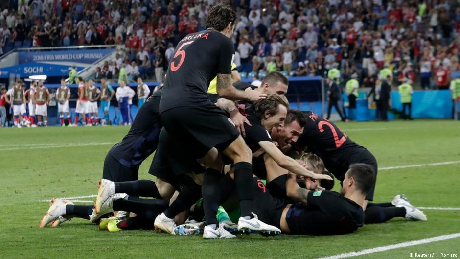 صورة كرواتيا تقصي روسيا صاحبة الأرض وتتأهل للمربع الذهبي