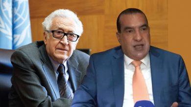 Photo de Lakhdar BRAHIMI dans une interview à Algérie Diplomatique