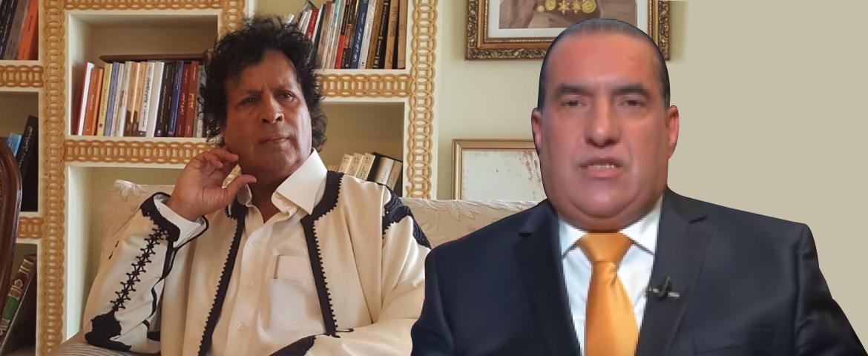 """صورة المبعوث الخاص للزعيم الراحل معمر القذافي أحمد قذاف الدم حصريا لــ """"الجزائر دبلوماتيك"""":"""