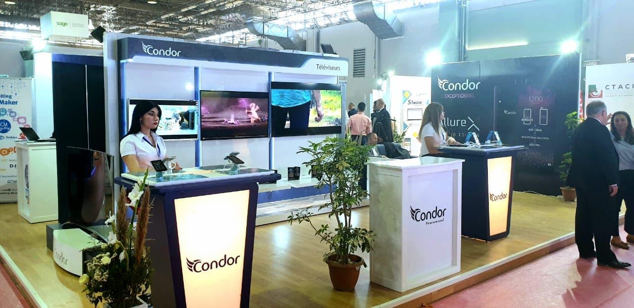 صورة Trophée de l'Export 2018 Condor présent au salon international des technologies de l'information et de la communication dédié à l'Afrique