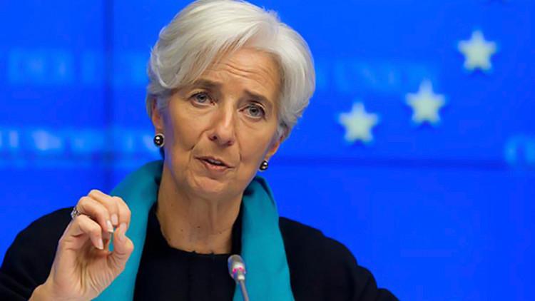 صورة استقالة المديرة العامة لصندوق النقد الدولي