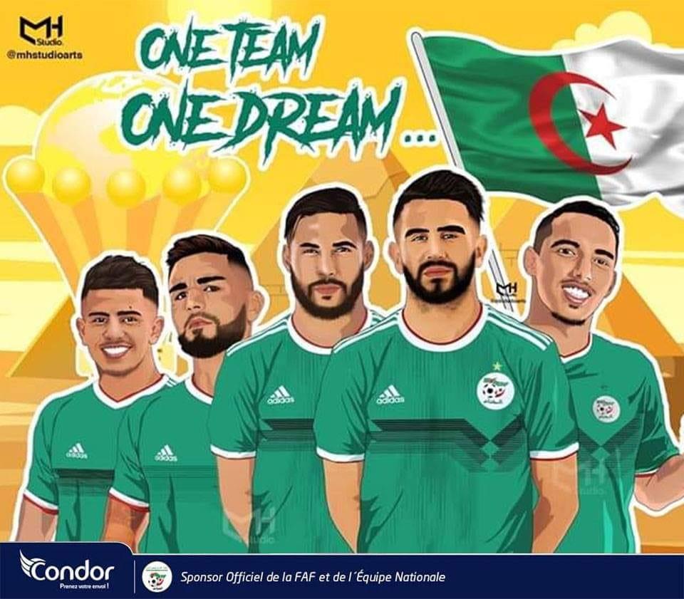 صورة Condor exprime son engagement indéfectible aux Verts Bravo les champions!