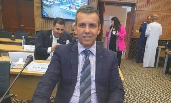 صورة تنصيب السيد أحمد بن صبان مديرا عاما جديدا للتلفزيون الجزائري