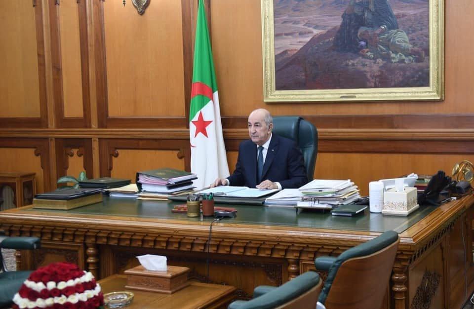 صورة رئيس الجمهورية يترأس اليوم الأحد الاجتماع الدوري لمجلس الوزراء