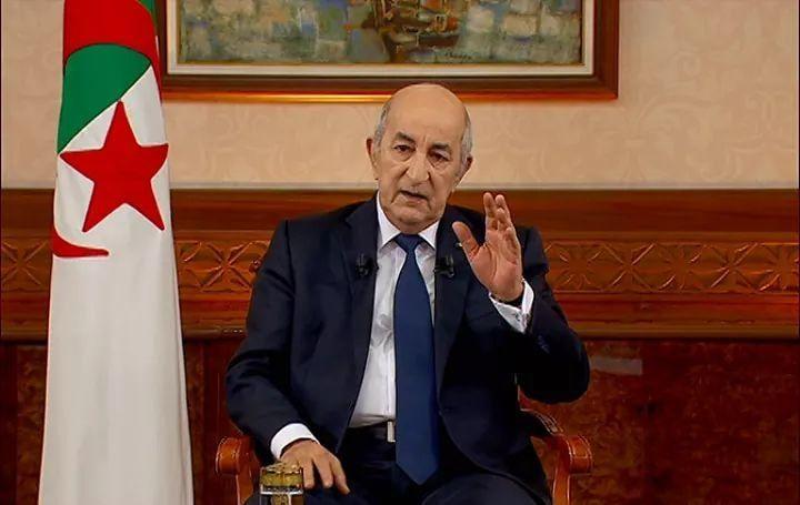 صورة تبون أخر الرؤساء العرب المحترمين.