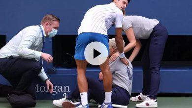 Photo de US Open : Novak Djokovic disqualifié après un geste d'humeur