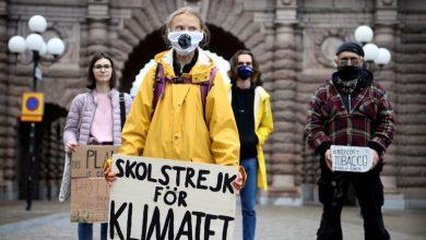 Photo de Présidentielle américaine : la Suédoise Greta Thunberg appelle à voter Biden contre Trump