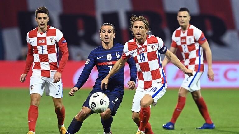 صورة فرنسا تؤكد علو كعبها على كرواتيا