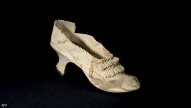 صورة حذاء ماري أنطوانيت للبيع.. والسعر مفاجأة