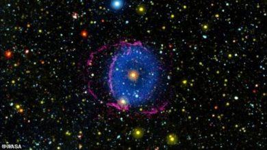 """صورة أخيرا.. علماء الفلك يفكون لغز """"السديم الأزرق"""""""