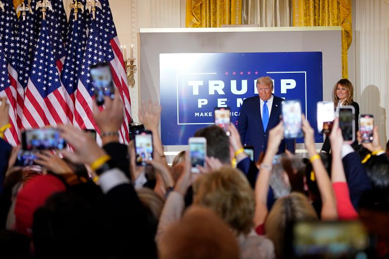 صورة بايدان رئيس أميريكا وترامب يستعد لانتخابات 2024