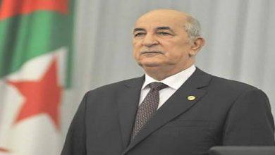 صورة رئيس الجمهورية يُعزي عائلتي الشهيدين الوافي محمد الأمين وخروسة نورالدين