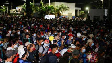 """صورة تأثير بايدن.. """"جحافل المهاجرين"""" تنطلق إلى الولايات المتحدة"""