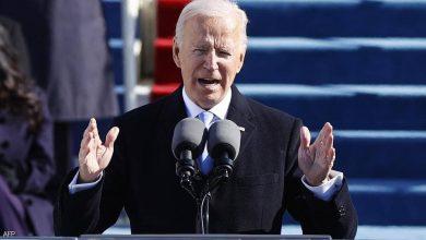 صورة الرئيس بايدن يلقي خطابا تاريخيا.. وهذه وعوده منذ اليوم الأول