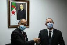 صورة تعيين الاعلامي محمد بغالي مديرا عاما للاذاعة الوطنية.