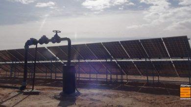 صورة سوناطراك: حفر (10) آبار مجهزة بمضخات تعمل بالطاقة الشمسية