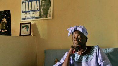 صورة وفاة جدة باراك أوباما في كينيا