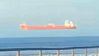 """صورة خدعة بصرية """"عجيبة"""".. فيديو لسفينة تطفو في الهواء"""