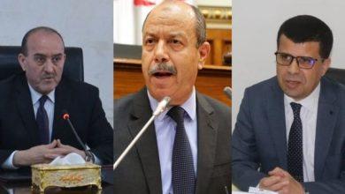 صورة وزراء الداخلية، العدل والموارد المائية يتنقلون إلى بجاية للوقوف على حيثيات حادث واد غير