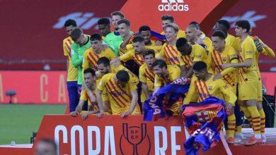صورة برشلونة يسحق أتلتيك بلباو برباعية.. ويحرز كأس إسبانيا