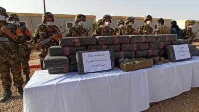 صورة وزارة الدفاع: توقيف 204 شخصا وحجز كميات من الكيف المعالج عبر مختلف الولايات خلال أسبوع