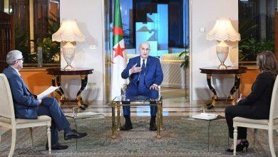 صورة اللقاء الدوري لرئيس الجمهورية السيد عبد المجيد تبون مع ممثلي الصحافة