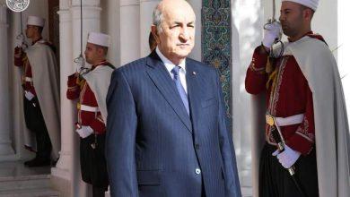 صورة نص رسالـة رئيس الجمهورية السيد عبد المجيد تبون بمناسبة إحياء يوم العلم 16 أفريل 2021