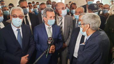 صورة فسخ العقد مع شركة إنجاز مشروع مستشفى 240 سريرًا بتقرت لتأخر الأشغال