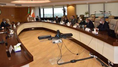 صورة الرئيس المدير العام لمجمع سوناطراك يستقبل الرئيس التنفيذي للمؤسسة الوطنية للنفط الليبية