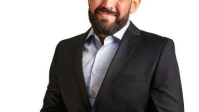 صورة كمال خليفاتي رجل الإجماع والتغيير عن قائمة الحكم الراشد بولاية البليدة