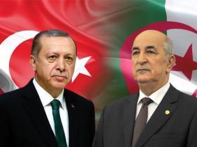 صورة رئيس الجمهورية السيد عبد المجيد تبون يتلقى مكالمة هاتفية من أخيه رئيس الجمهورية التركية السيد رجب طيب أردوغان