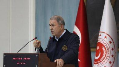 صورة وزير الدفاع التركي: حيدنا خلال 6 سنوات أكثر من 18 ألف إرهابي