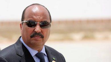 صورة رئيس موريتانيا السابق يرفض استقبال لجنة حقوق الإنسان في مكان احتجازه