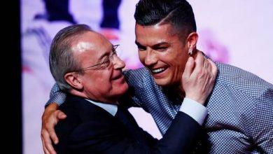 """صورة رئيس ريال مدريد يكشف بعض أسرار """"سانتياغو برنابيو"""" ويتحسر على رحيل رونالدو"""