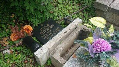 صورة تدمير 67 قبرا يهوديا في بولندا