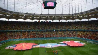 """صورة شاهد.. هدف تاريخي في """"يورو 2020"""""""