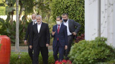 صورة ما يجب أن يقال: المخزن، الأساس في زيارة وفد حماس ؟!