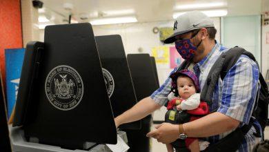 صورة سكان نيويورك يختارون بين مرشحي الحزب الديمقراطي رئيسا للبلدية