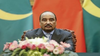 صورة إيداع الرئيس الموريتاني السابق السجن