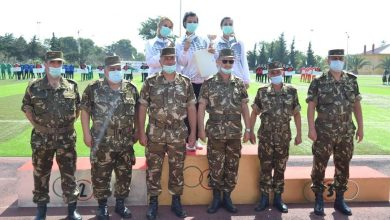 صورة اختتام الكأس الوطنية العسكرية لسباق التوجيه بالناحية العسكرية الثانية