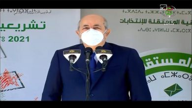 صورة رئيس الجمهورية يؤكد أن التشريعيات هي اللبنة الثانية في مسار بناء جزائر أقرب للمواطن ممّا مضى