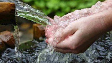 صورة الحياة بدأت بتوفير الماء..